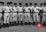 Image of NY Yankees and NY Giants in baseball spring training Atlantic City New Jersey USA, 1944, second 18 stock footage video 65675071249
