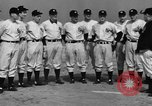 Image of NY Yankees and NY Giants in baseball spring training Atlantic City New Jersey USA, 1944, second 19 stock footage video 65675071249