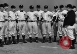 Image of NY Yankees and NY Giants in baseball spring training Atlantic City New Jersey USA, 1944, second 20 stock footage video 65675071249