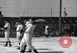 Image of NY Yankees and NY Giants in baseball spring training Atlantic City New Jersey USA, 1944, second 28 stock footage video 65675071249