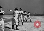 Image of NY Yankees and NY Giants in baseball spring training Atlantic City New Jersey USA, 1944, second 29 stock footage video 65675071249