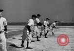 Image of NY Yankees and NY Giants in baseball spring training Atlantic City New Jersey USA, 1944, second 30 stock footage video 65675071249