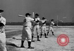 Image of NY Yankees and NY Giants in baseball spring training Atlantic City New Jersey USA, 1944, second 32 stock footage video 65675071249