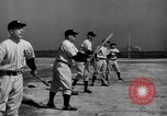 Image of NY Yankees and NY Giants in baseball spring training Atlantic City New Jersey USA, 1944, second 33 stock footage video 65675071249