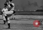 Image of NY Yankees and NY Giants in baseball spring training Atlantic City New Jersey USA, 1944, second 37 stock footage video 65675071249
