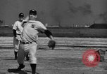 Image of NY Yankees and NY Giants in baseball spring training Atlantic City New Jersey USA, 1944, second 38 stock footage video 65675071249