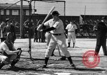 Image of NY Yankees and NY Giants in baseball spring training Atlantic City New Jersey USA, 1944, second 39 stock footage video 65675071249