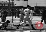 Image of NY Yankees and NY Giants in baseball spring training Atlantic City New Jersey USA, 1944, second 40 stock footage video 65675071249