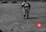 Image of NY Yankees and NY Giants in baseball spring training Atlantic City New Jersey USA, 1944, second 50 stock footage video 65675071249