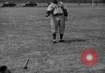 Image of NY Yankees and NY Giants in baseball spring training Atlantic City New Jersey USA, 1944, second 51 stock footage video 65675071249