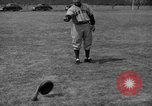 Image of NY Yankees and NY Giants in baseball spring training Atlantic City New Jersey USA, 1944, second 52 stock footage video 65675071249