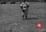 Image of NY Yankees and NY Giants in baseball spring training Atlantic City New Jersey USA, 1944, second 54 stock footage video 65675071249