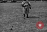 Image of NY Yankees and NY Giants in baseball spring training Atlantic City New Jersey USA, 1944, second 55 stock footage video 65675071249