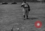Image of NY Yankees and NY Giants in baseball spring training Atlantic City New Jersey USA, 1944, second 57 stock footage video 65675071249