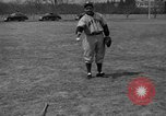Image of NY Yankees and NY Giants in baseball spring training Atlantic City New Jersey USA, 1944, second 58 stock footage video 65675071249
