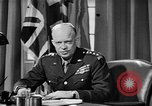 Image of Dwight D Eisenhower United Kingdom, 1944, second 18 stock footage video 65675071260