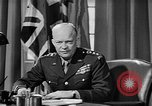 Image of Dwight D Eisenhower United Kingdom, 1944, second 45 stock footage video 65675071260