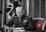 Image of Dwight D Eisenhower United Kingdom, 1944, second 46 stock footage video 65675071260