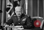 Image of Dwight D Eisenhower United Kingdom, 1944, second 52 stock footage video 65675071260