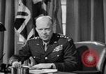 Image of Dwight D Eisenhower United Kingdom, 1944, second 58 stock footage video 65675071260