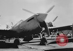 Image of Curtiss P-40L aircraft Atlantic Ocean, 1943, second 11 stock footage video 65675071272
