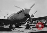 Image of Curtiss P-40L aircraft Atlantic Ocean, 1943, second 13 stock footage video 65675071272