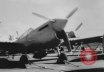 Image of Curtiss P-40L aircraft Atlantic Ocean, 1943, second 14 stock footage video 65675071272