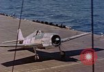 Image of US Navy Squadron VF-16 aboard USS Lexington (CV-16) Pacific Ocean, 1944, second 2 stock footage video 65675071281