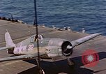 Image of US Navy Squadron VF-16 aboard USS Lexington (CV-16) Pacific Ocean, 1944, second 3 stock footage video 65675071281