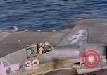 Image of US Navy Squadron VF-16 aboard USS Lexington (CV-16) Pacific Ocean, 1944, second 5 stock footage video 65675071281
