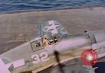 Image of US Navy Squadron VF-16 aboard USS Lexington (CV-16) Pacific Ocean, 1944, second 6 stock footage video 65675071281