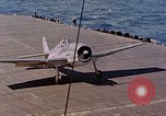 Image of US Navy Squadron VF-16 aboard USS Lexington (CV-16) Pacific Ocean, 1944, second 8 stock footage video 65675071281