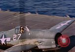 Image of US Navy Squadron VF-16 aboard USS Lexington (CV-16) Pacific Ocean, 1944, second 11 stock footage video 65675071281