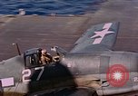 Image of US Navy Squadron VF-16 aboard USS Lexington (CV-16) Pacific Ocean, 1944, second 12 stock footage video 65675071281