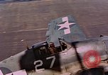 Image of US Navy Squadron VF-16 aboard USS Lexington (CV-16) Pacific Ocean, 1944, second 13 stock footage video 65675071281