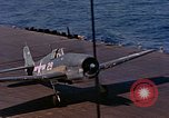 Image of US Navy Squadron VF-16 aboard USS Lexington (CV-16) Pacific Ocean, 1944, second 17 stock footage video 65675071281