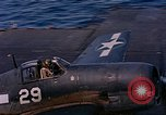 Image of US Navy Squadron VF-16 aboard USS Lexington (CV-16) Pacific Ocean, 1944, second 20 stock footage video 65675071281