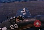Image of US Navy Squadron VF-16 aboard USS Lexington (CV-16) Pacific Ocean, 1944, second 21 stock footage video 65675071281