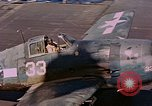 Image of US Navy Squadron VF-16 aboard USS Lexington (CV-16) Pacific Ocean, 1944, second 47 stock footage video 65675071281