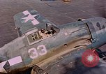 Image of US Navy Squadron VF-16 aboard USS Lexington (CV-16) Pacific Ocean, 1944, second 50 stock footage video 65675071281