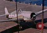 Image of US Navy Squadron VF-16 aboard USS Lexington (CV-16) Pacific Ocean, 1944, second 54 stock footage video 65675071281