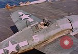 Image of US Navy Squadron VF-16 aboard USS Lexington (CV-16) Pacific Ocean, 1944, second 60 stock footage video 65675071281