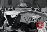 Image of Red Cross workers Bastogne Belgium, 1945, second 18 stock footage video 65675071306