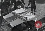 Image of Red Cross workers Bastogne Belgium, 1945, second 21 stock footage video 65675071306