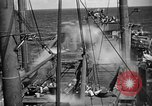 Image of US Navy spray systems to combat fire Iwo Jima, 1945, second 3 stock footage video 65675071340