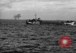 Image of amphibious invasion Iwo Jima, 1945, second 30 stock footage video 65675071342