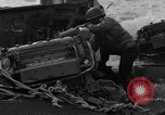 Image of beachhead activities Iwo Jima, 1945, second 49 stock footage video 65675071354