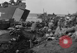 Image of beachhead activities Iwo Jima, 1945, second 59 stock footage video 65675071354