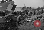 Image of beachhead activities Iwo Jima, 1945, second 60 stock footage video 65675071354