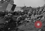 Image of beachhead activities Iwo Jima, 1945, second 61 stock footage video 65675071354